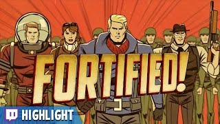Fortified - Defend Against the Martian Invasion! (Twitch Highlight)