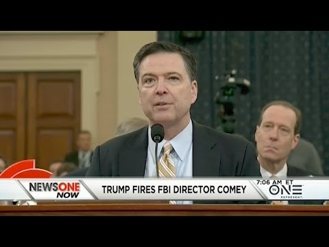 Trump Fires FBI Director James Comey, What's Next For The Russia Investigation?