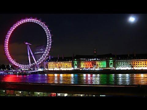 ☆ Fantastic tour of London, England ☆ [Full HD movie]