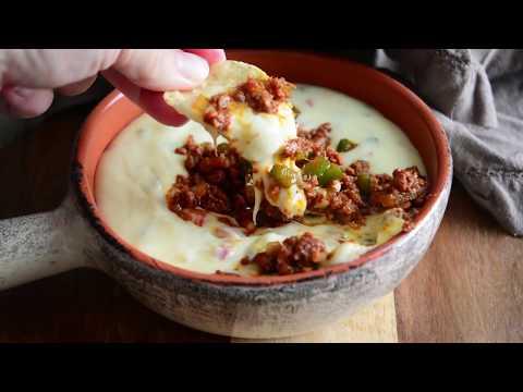 Queso Blanco Dip with Chorizo