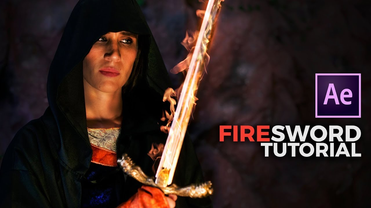 Create a FLAMING SWORD in After Effects 🔥⚔️