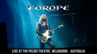 europe stormwind live at the palais theatre melbourne australia may 19th 2018