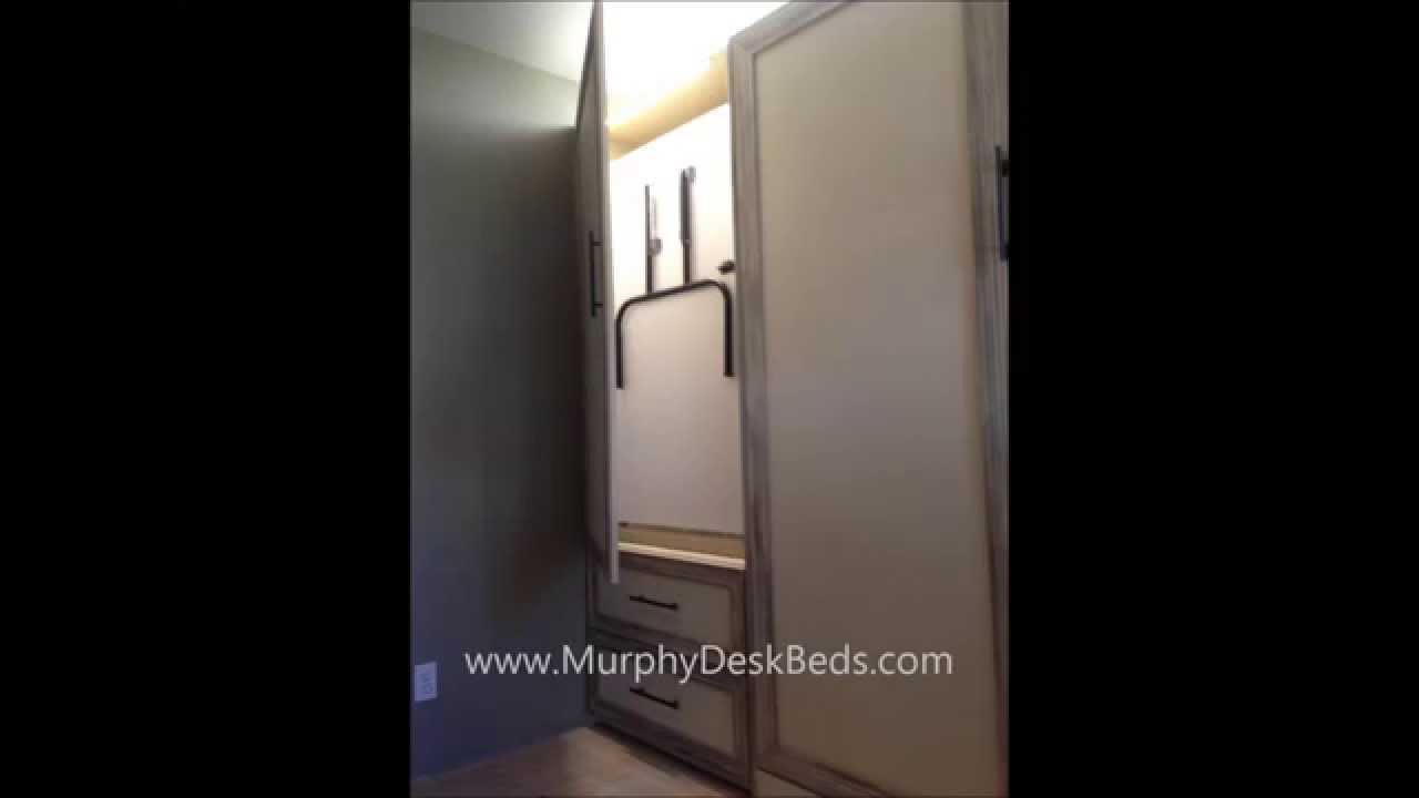 The Ultimate Organized Craft Table From Murphy Bed Concepts, Inc.   YouTube