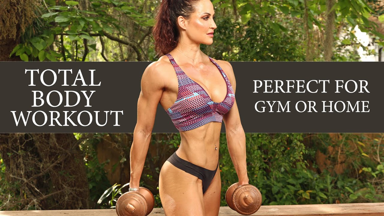 Full Body Dumbbell Only Workout | Make Gains Anywhere