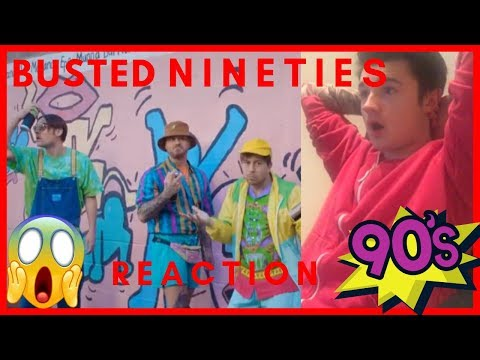 BUSTED - Nineties (OFFFICIAL MUSIC VIDEO) REACTION!!!!! Mp3