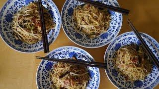 廚房裡的人類學家:薑汁香菇炒麵