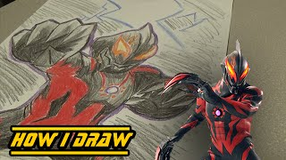 Ultraman Belial - How I Draw