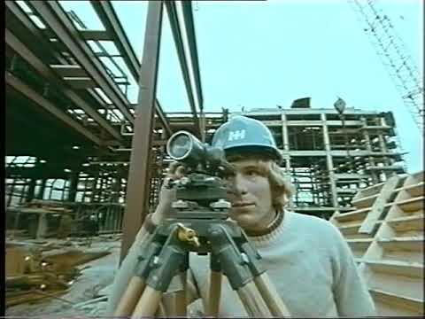 LWT (London Weekend Television) - Construction Of The South Bank Television Centre