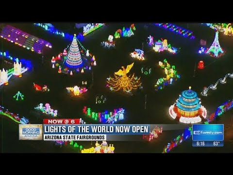 Lights of the World brightens Downtown Phoenix