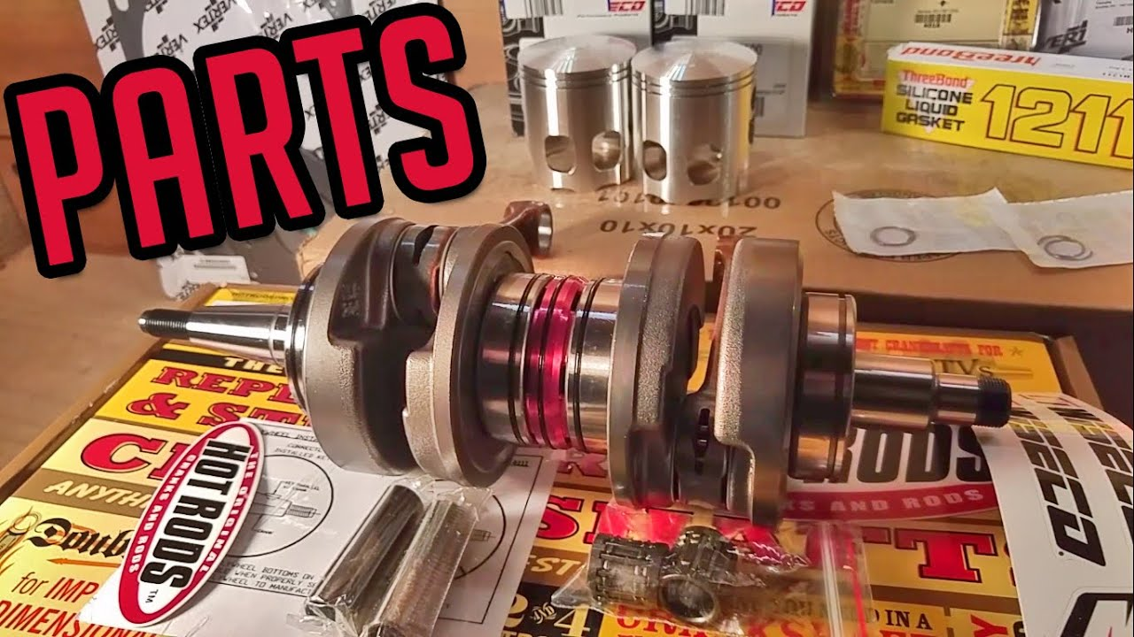 banshee rebuild parts wiseco pistons hot rods crank vertex seals [ 1366 x 768 Pixel ]