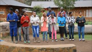 Choir at Malealea Lodge, Lesotho