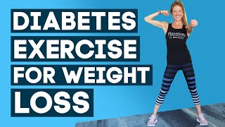 Diabetes exercises at home for weight loss workout beginners // caroline jordan if you want to lose and control your diabetes, visit 👉 https://...