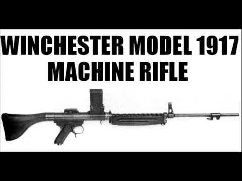 winchester m1917 machine rifle