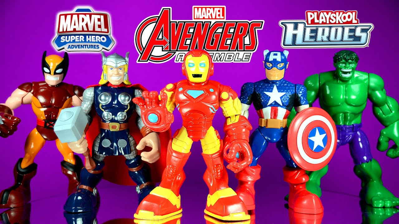 Playskool Marvel Super Hero Adventures Wolverine First Release