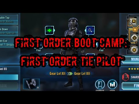 SWGOH: First Order Boot Camp - KYLO REN (UNMASKED) Character Review