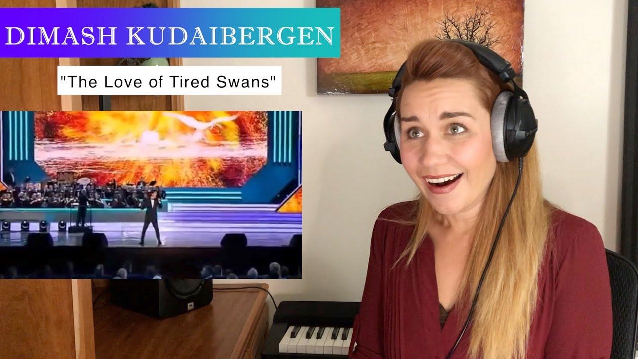 "Vocal Coach/Opera Singer REACTION & ANALYSIS Dimash Kudaibergen ""The Love of Tired Swans"""