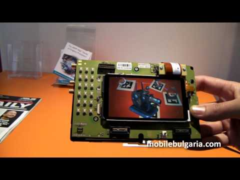 ARM Mali GPU augmented reality demo at MWC 2011