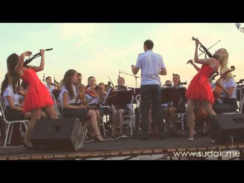 оркестр в судаке видео