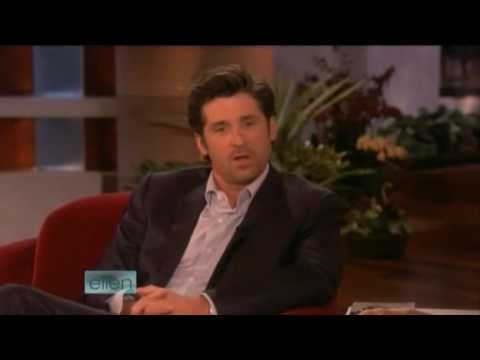 Patrick Dempsey Interview on Ellen 11/05/08