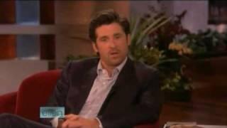 Patrick Dempsey Interview on Ellen 11/05/08