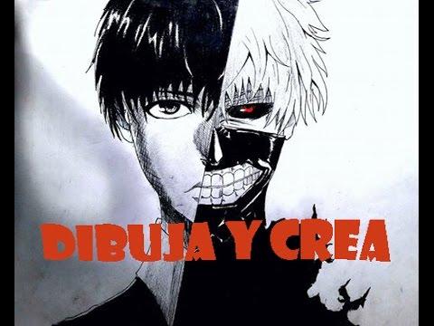 dibujo-de-kaneki--tokyo-ghoul/-speed-drawing-kaneki