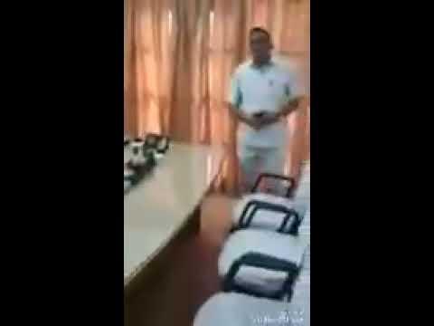 कर्नल ने सुबेदार को थप्पड़ मारा हरियाणा EX ARMY अध्यक्ष पहूचे कर्नल के  office mein और चेतावनी दी...