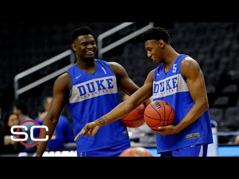 How do Zion Williamson, RJ Barrett, and Cam Reddish's game project to the NBA? | SportsCenter thumbnail