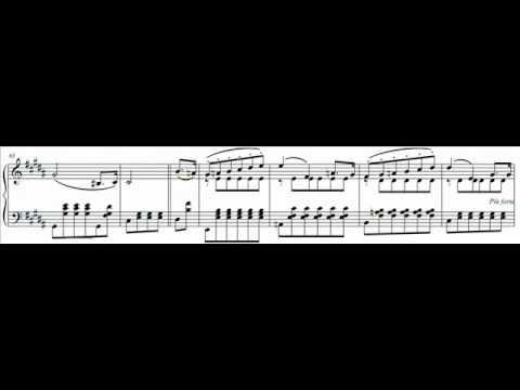 Hamelin plays Alkan  Nocturne in B major, op 22 Audio + Sheet music