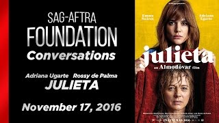 Conversations with Adriana Ugarte and Rossy de Palma of JULIETA