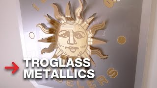 TroGlass Metallics | Metallic acrylic | Acrylic Heat Bending
