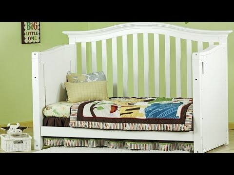 Dream On Me Electronic Wonder Crib II Baby Crib Set Converts To A - Convert crib into toddler bed