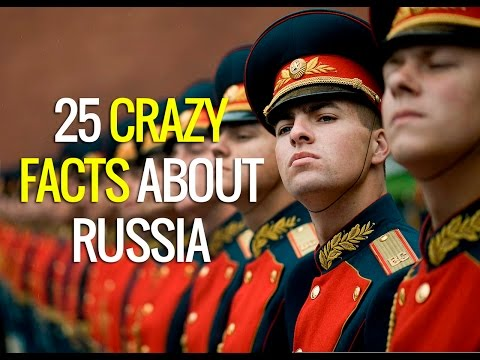 25 Crazy Facts About Russia - Weird Facts About Russia Culture