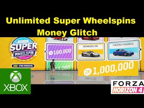 Forza Horizon 4 Xbox One unlimited money super wheelspins glitch (PATCHED)