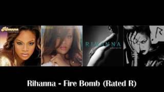 Rihanna - Rated R   07. Fire Bomb