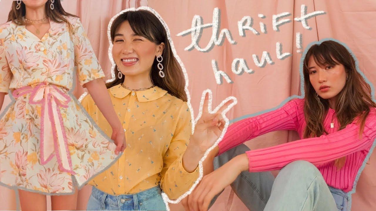 summer try-on thrift haul ? 4