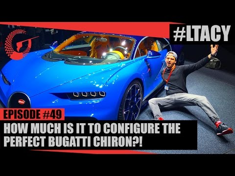 How Much Is It To Configure The Perfect Bugatti Chiron Ltacy