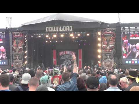 five finger death punch - intro + under and over it  live at download festival uk 2015 mp3