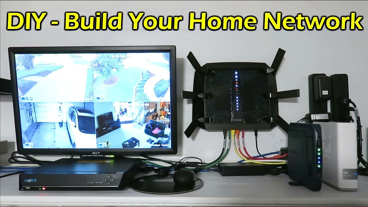 DIY - How To Build Your Home Network - YouTube