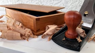 Hand Tools Only: Dovetail Box Made with ZERO Electricity
