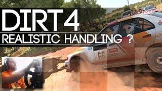 Dirt 4 - IS DIRT 4 REALISTIC ?   -  CAR HANDLING REVIEW