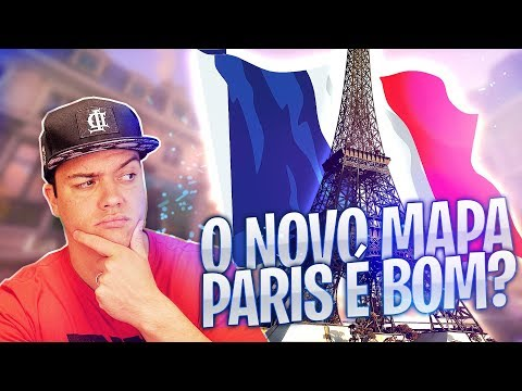 TESTANDO O NOVO MAPA PARIS | Overwatch thumbnail