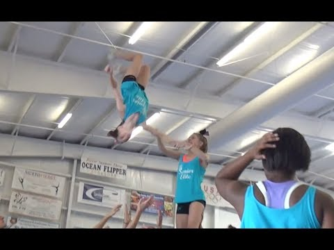 Cheer Extreme Beach Camp SE & SSX Day 1