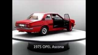 OPEL Ascona B SR 1975 Sunstar 1:18 Original