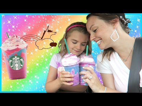 Thumbnail: 🌈 Starbucks Unicorn Frappuccino Taste Test! 🦄