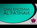 Ilmu Khodam Al Fatihah Untuk Mendatangkan Keberkahan Hidup
