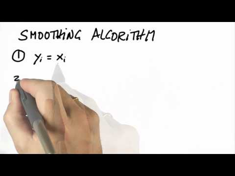 Smoothing Algorithm - Artificial Intelligence for Robotics