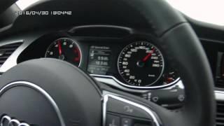 Audi A4 на трассе
