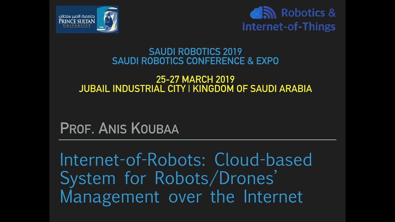 Saudi Robotics Conference and Expo, March 2019