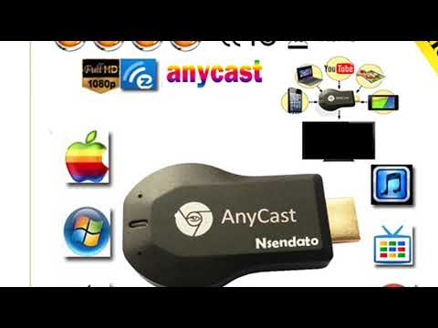 Any Cast Air Play hdmi 1080p tv stick wifi Display Receiver dongle for ios andriod
