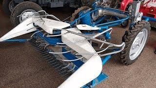 गेहू / धान  कटाई व् बंधाई मशीन की समीक्षा | Reaper Binder Review | Paddy / Wheat Crop Cutter